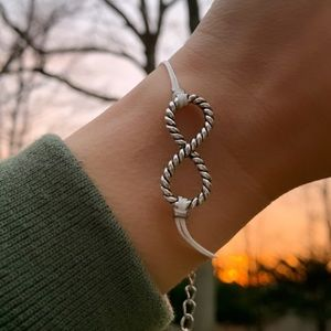 Friendship Bracelet Yin to my Yang- infinity